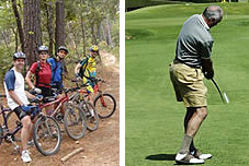 Vélo et golf à Denia